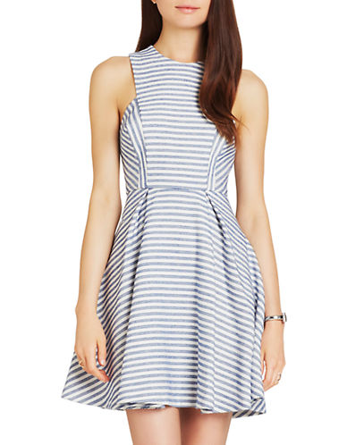 Bcbgeneration Tweed Fit-and-Flare Dress