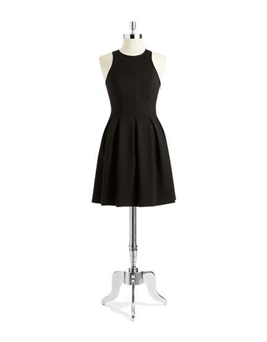 JILL JILL STUARTPleated Scuba Dress
