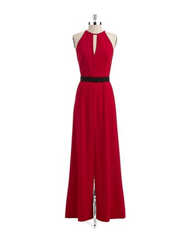 Shop Jill Jill Stuart online and buy Jill Jill Stuart Belted Keyhole Gown dress online