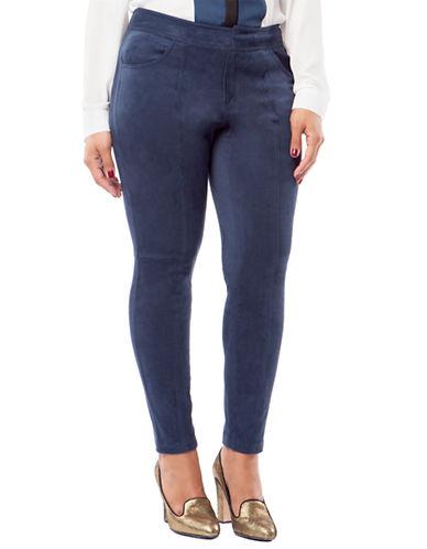 Mynt 1792 Plus Plus Suede Five pocket Pants