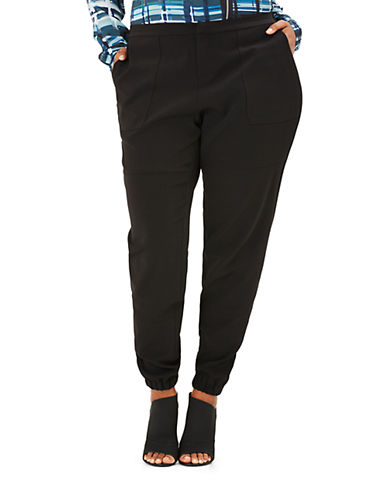 Mynt 1792 Plus Plus Slouchy Tapered Leg Pants