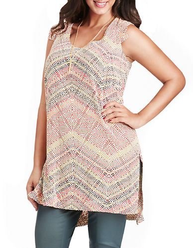 Mynt 1792 Plus Plus Ikat Tunic