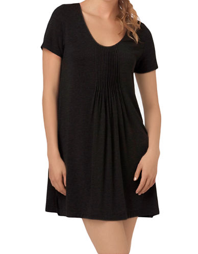 DKNY Plus Pleated Sleep Shirt