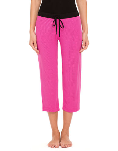 DKNYSeven Easy Pieces Fashion Color Cropped Pants
