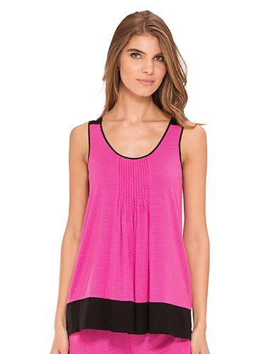 DKNYSeven Easy Pieces Fashion Color Tank Top