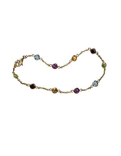 Effy Semi-Precious, Multi-Stone and 14K Yellow Gold Station Bracelet