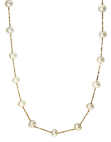 Effy 14Kt. Yellow Gold Freshwater Pearl Necklace
