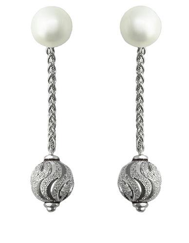 EFFYBalissima Freshwater Pearl Drop Earrings in Sterling Silver