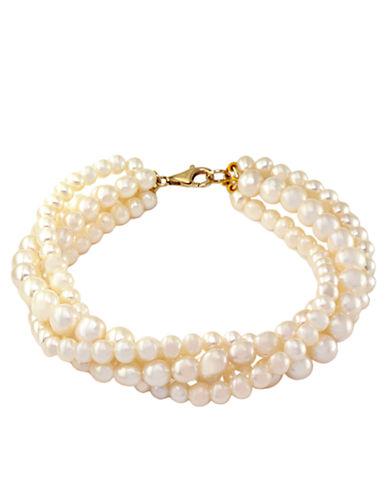 EFFY14Kt. Yellow Gold Freshwater Pearl Tennis Bracelet