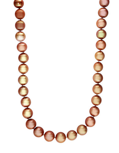 EFFYSterling Silver and Brown Pearl Necklace
