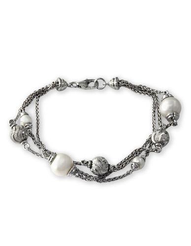 EFFYSterling Silver Freshwater Pearl Tennis Bracelet