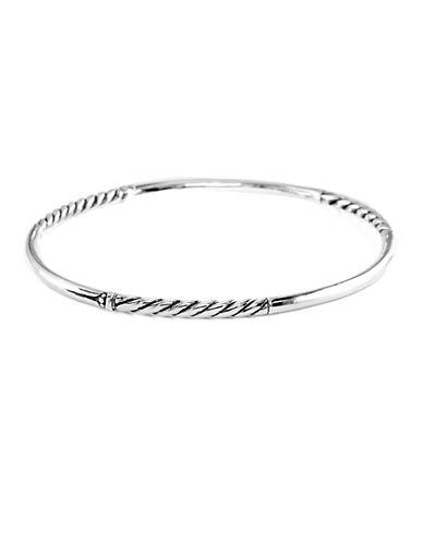 EFFYBalissima Sterling Silver Textured Bangle Bracelet