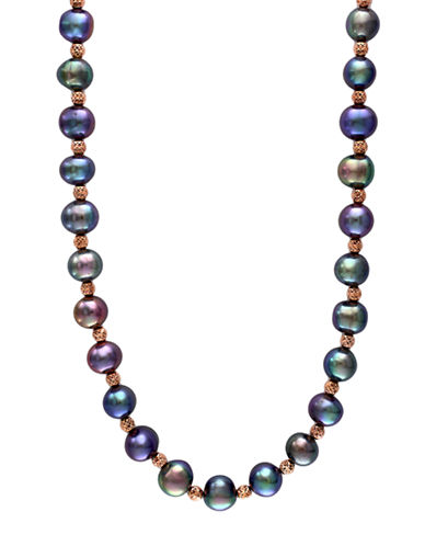 EFFY Sterling Silver Multi-Colored Freshwater Pearl Necklace