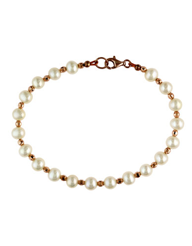 EFFY Sterling Silver Freshwater Pearl and Bead Bracelet