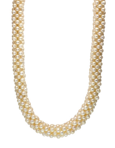 EFFY Sterling Silver and Freshwater Pearl Necklace