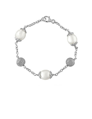 EFFY10MM White Pearl and Sterling Silver Bracelet