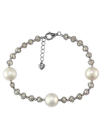 EFFYPearl Lace Sterling Silver Pearl Bracelet