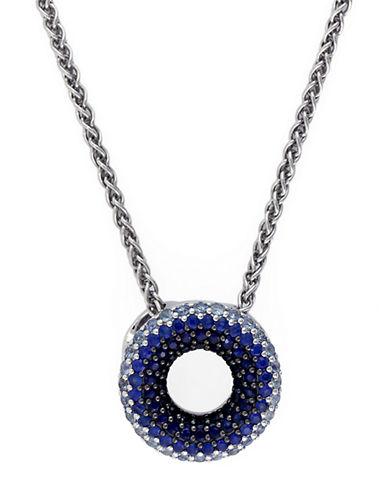 EFFYBalissima Sterling Silver Sapphire Circle Pendant