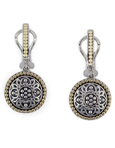EFFYBalissima 18 Kt. Yellow Gold and Sterling Silver Drop Earrings
