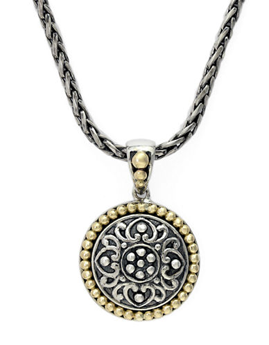EFFYBalissima 18 Kt. Yellow Gold and Sterling Silver Pendant
