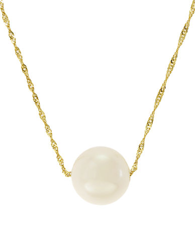 EFFY 14 Kt. Yellow Gold Pearl Necklace