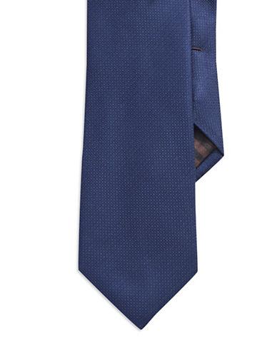 BLACK BROWN 1826Textured Silk Tie