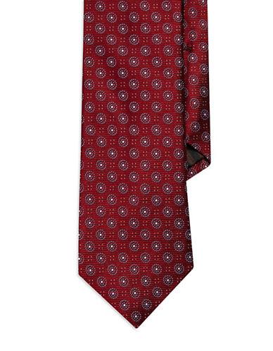 BLACK BROWN 1826Open Flower Silk Tie