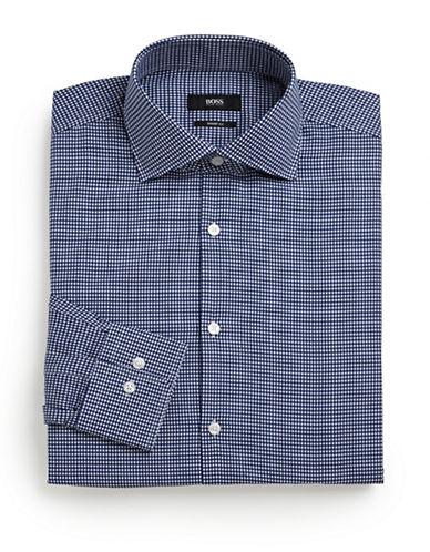 HUGO BOSSGrid Dot Dress Shirt