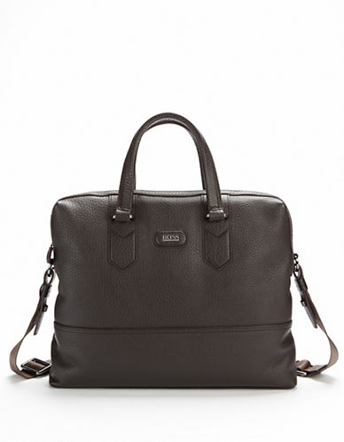 HUGO BOSS Magnusy Leather Bag