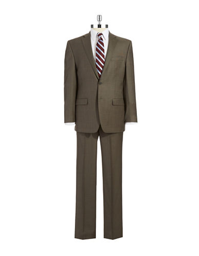 LAUREN RALPH LAURENUltraflex Two Piece Plaid Suit