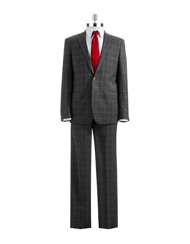 JOHN VARVATOS U.S.A.Two Piece Plaid Suit