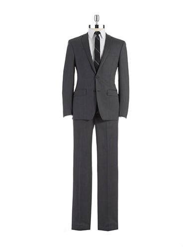 DKNY Slim Fit Two-Piece Wool Suit