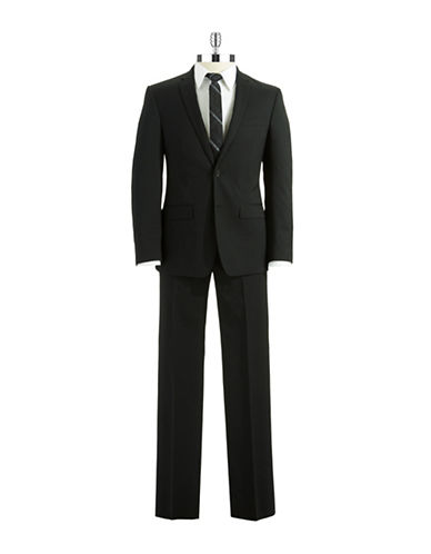 DKNY Two Piece Striped Suit Set