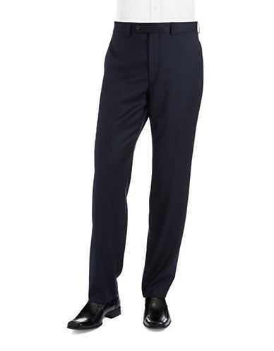 LAUREN RALPH LAUREN Checked Flat Front Dress Pants