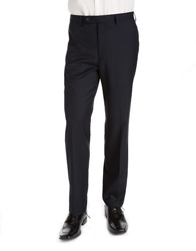 CALVIN KLEIN Classic Fit Flat-Front Dress Pants