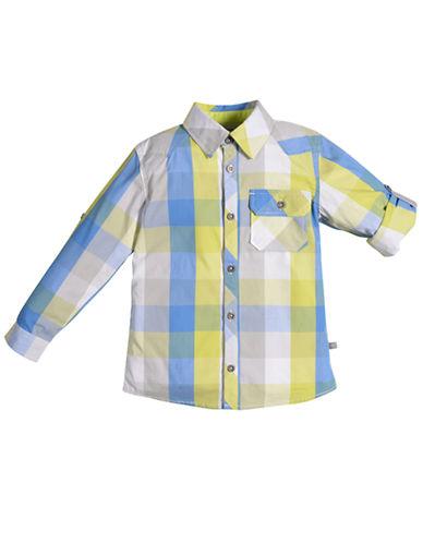 PETIT LEMBoys 2-7 Urban Squad Long-Sleeve Plaid Shirt