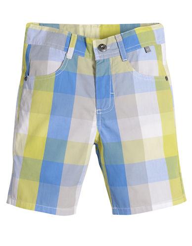 PETIT LEMBoys 2-7 Urban Squad Plaid Shorts