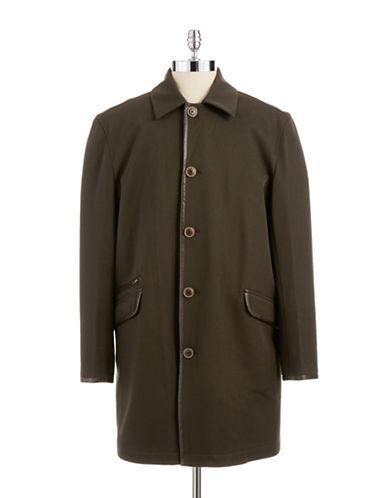 BLACK BROWN 1826 LUXWool Storm Coat