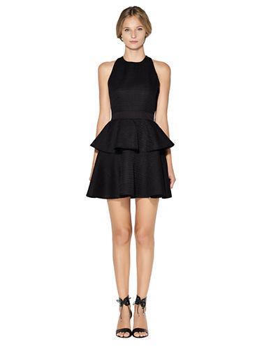 Shop Cynthia Rowley online and buy Cynthia Rowley Textured Peplum Dress dress online