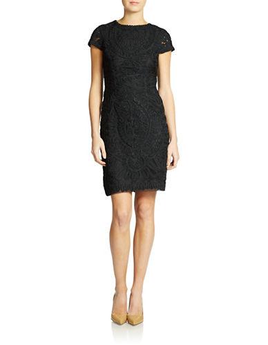 JS COLLECTIONSLace Sheath Dress