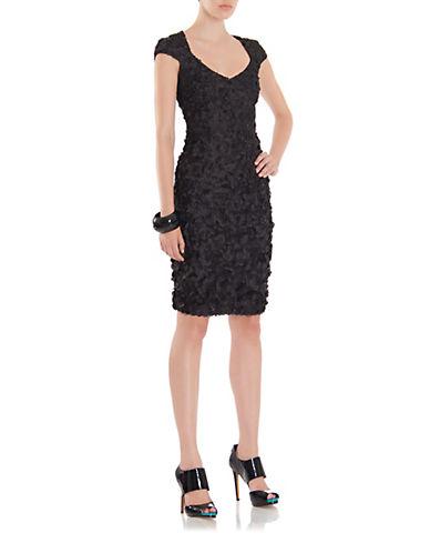 THEIAMatte Sequin Dress