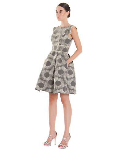 THEIABurst Print A Line Dress