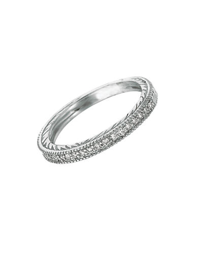 LORD & TAYLORDiamond Band in 14 Kt. White Gold