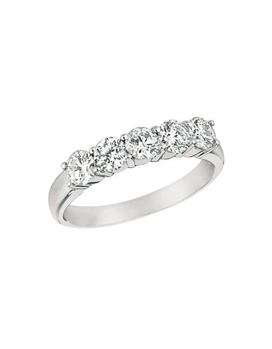 LORD & TAYLOR Diamond and 14k White Gold Ring
