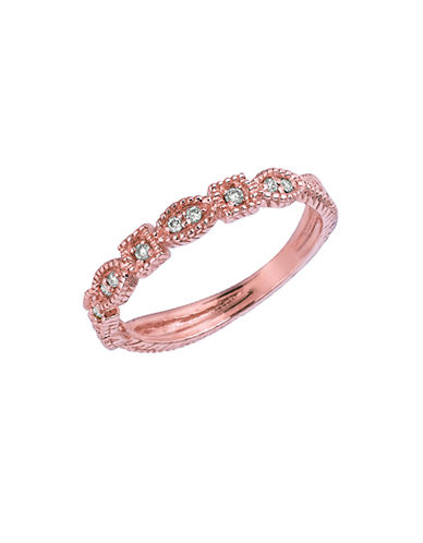 LORD & TAYLORDiamond Ring in 14 Kt. Rose Gold