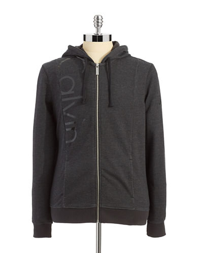 CALVIN KLEIN JEANS Hoodie with Logo Detail