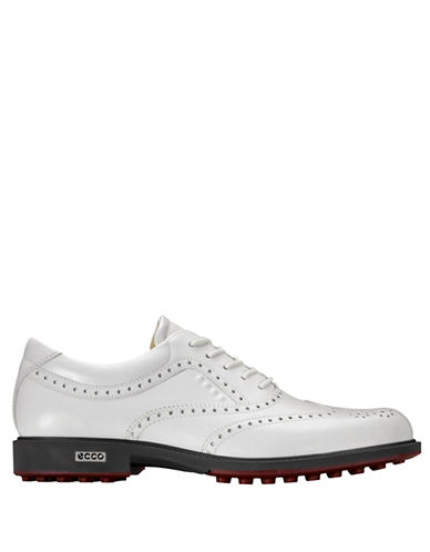 ECCO Perforated Leather Hybrid Golf Shoes