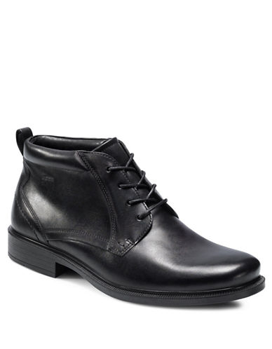 ECCO Dublin Leather Chukka Boots
