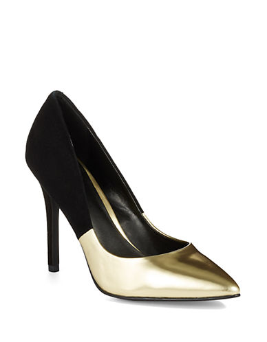 Charles By Charles David Paisley Suede Pumps