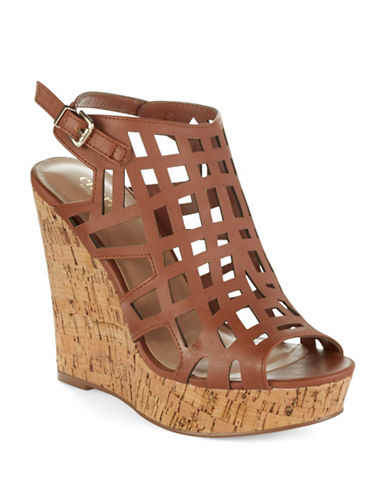 CHARLES BY CHARLES DAVIDAffluent Cage Wedge Sandals